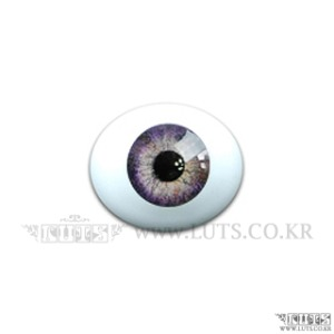 8MM Real Type Glass Eyes Light Violet