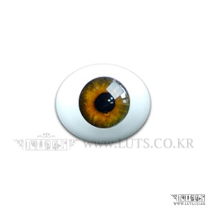 8MM Real Type Glass Eyes Hazel