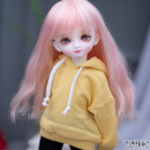 HDF MAKIE sweat shirt (Lemon)