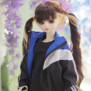[MSD]Wind breaker(Blue black)