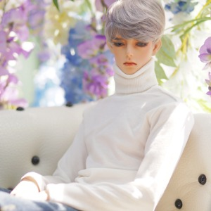 [ID75]BOY Simple turtleneck(Ivory)
