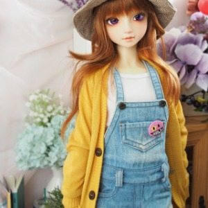 [SDG]GIRL Colorful cardigan(Yellow)