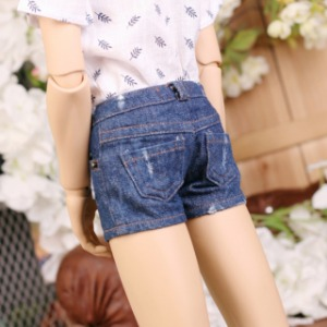 [SDB]BOY Worn hot pants(Blue jean)
