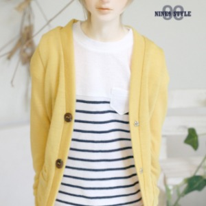 [SDB]BOY Colorful cardigan(Yellow)