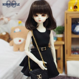 [MSD]Modern belt one-piece(Black)