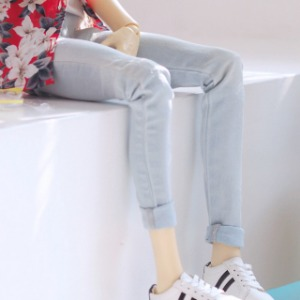 [SDB]BOY Vintage washing skinny pants(Ice)