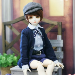 [MSD]BOY Colorful cardigans(Navy)