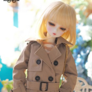 [MSD]Long trench coat(Beige)