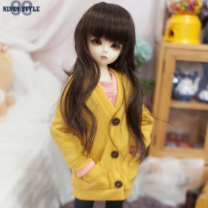 [MSD]GIRL Colorful cardigans(Yellow)