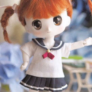 [LATI-Y]GIRL Sailor nine school (Navy)
