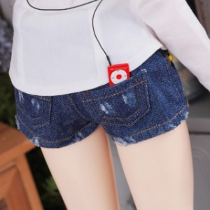 [SDG]Girl Worn hot pants(Blue jean)