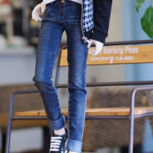 [SDB]BOY vintage washing skinny pants(Blue)