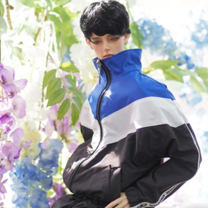 [ID75]Wind breaker(Blue black)
