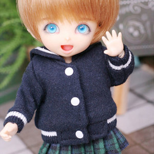 [LATI-Y]Sailor Baseball Jumper(Navy)