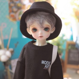 [MSD]Color casual over MTM(Black)