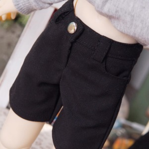 [MSD]Slacks shorts(Black)