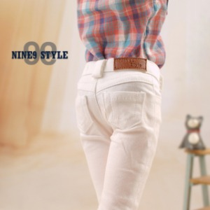 [MSDG] Color skinny(White)