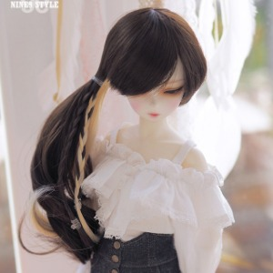 [MSD]Frill off shoulder blouse(White)