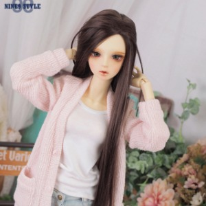 [SDG]GIRL Long knit cardigan(Pink)