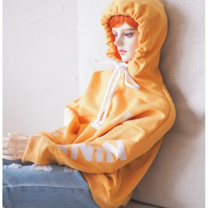 [ID75] ID75)Color Overfit Hoodie (Yellow)
