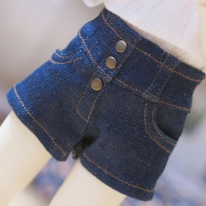 [YoSD] High waist hot pants(Denim)