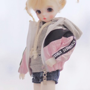 [YoSD]Wind breaker(White pink)