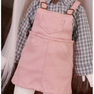 [YoSD]Cute suspender skirt(Pink)