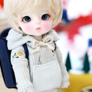 [Child16] 16CM S.Flower Hooded -Mint