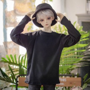 [SDB] [Preorder] Basic long sleeve T-shirt(Black)