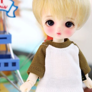 [Child16] 16CM fall Raglan T shirt - D.Khaki