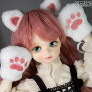 KDF Cat Jelly Punch (White)