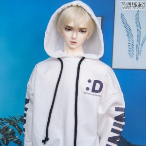 GSDF Color Overfit Hoodie (White)